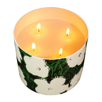 Andy Warhol Scented Candle - Flowers - Lily of the Valley
