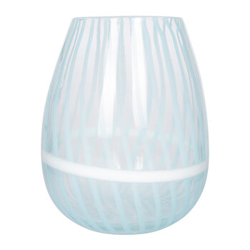 Venezia Cane Vase - Blue - Medium