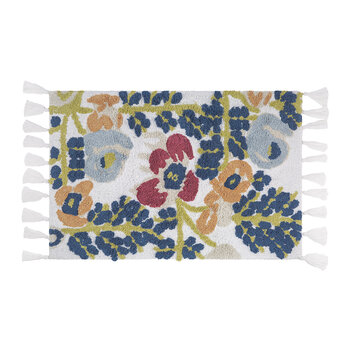 Multi Floral Bath Mat