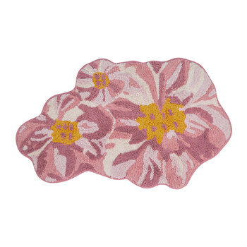 Shaped Flower Bath Mat