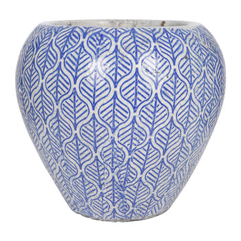 Finley Large Pot - Blue