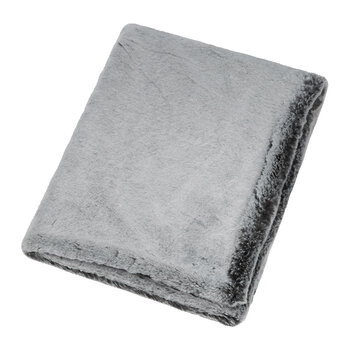 Faux Fur Throw - Glacier - 140x180cm