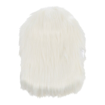 Himalaya Faux Fur Hot Water Bottle - Ivory