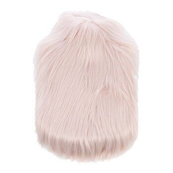 Himalaya Faux Fur Hot Water Bottle - Blush