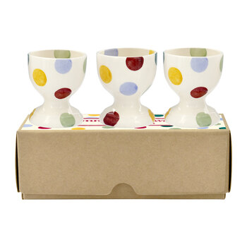 Polka Dot Egg Cups - Set of 3