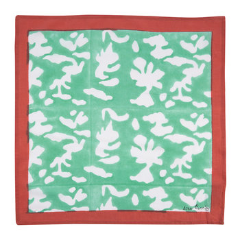 Floral Clash Cotton Handkerchief - Set of 4 - 4