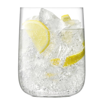 Borough Bar Glass - Set of 4 - Clear