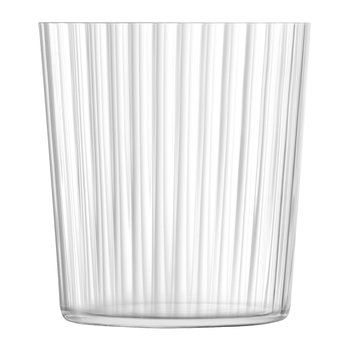Gio Line Tumbler - Set of 4 - Clear