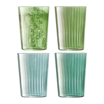 Assorted Gems Tumbler - Set of 4 - Jade