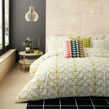 Linear Stem Duvet Cover - Dandelion