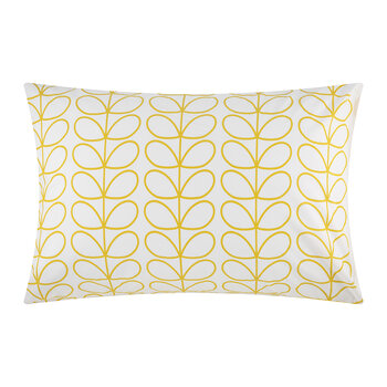Linear Stem Pillowcase - Set of 2 - Dandelion