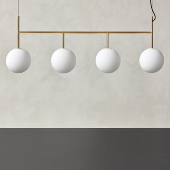 TR Bulb Suspension Light - Brass