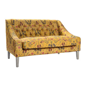 Gipsy Ochre Tufted Sofa