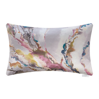 Ink Abstraction Cushion - 40x60cm - Blush