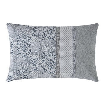 Floral Mosaic Pillowcase - Pearl Blue - Set of 2