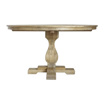 Elm Dining Table - Natural