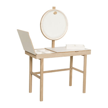Phine Make-Up Table - Natural/White