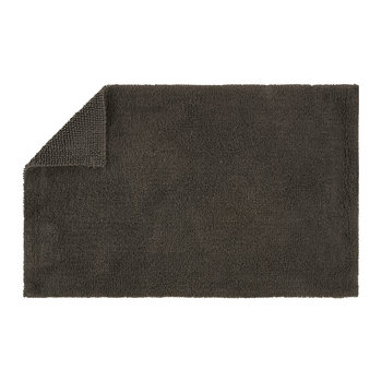 Reversible Rug Bath Mat - Graphite