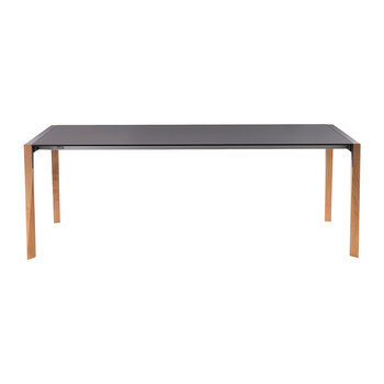 Tango Extendable Dining Table - Oak/Black