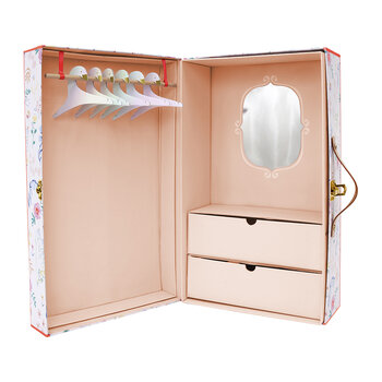 Floral Wardrobe Dolly Accessory