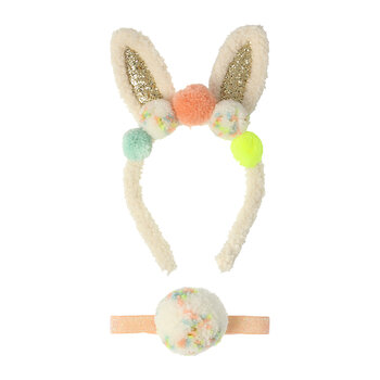 Children's Dress Up - Pompom Bunny