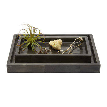 Arles Tray Set - Dark