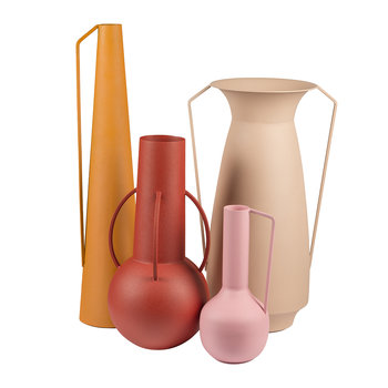 Roman Vases - Set of 4 - Sunset
