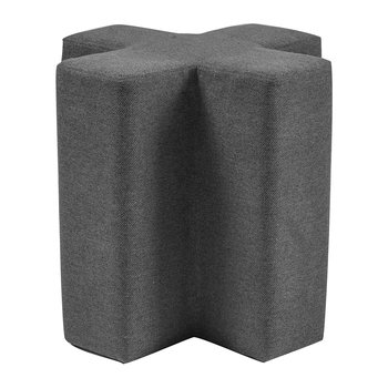 Cross Stool - Dark Gray