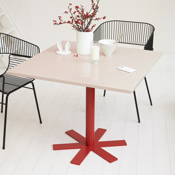 Parrot Square Dining Table - Light Pink