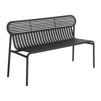 Filaire Outdoor Bench - Black