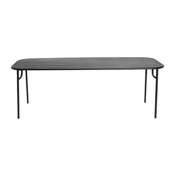 Filaire Outdoor Rectangle Table - Black