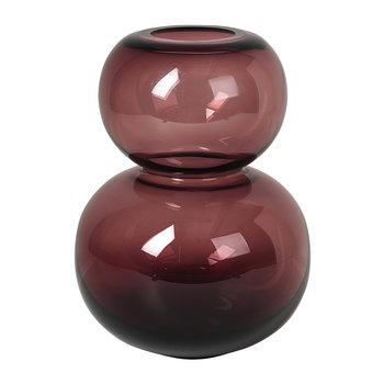 Bubble Vase - Medium - Plum Wine