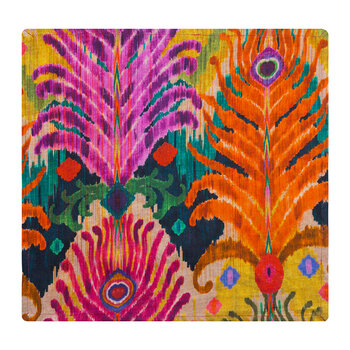 Matthew Williamson Cotton Napkin - Peacock Feather