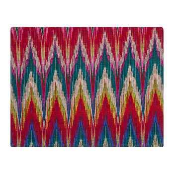 Matthew Williamson Cotton Placemat - Zig Zag