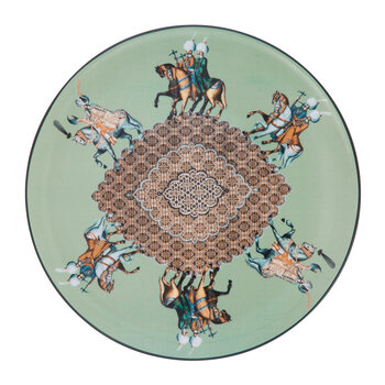 Constantinople Porcelain Plate - Horse