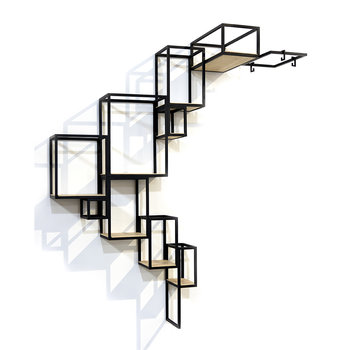 Jointed Wall Shelves
