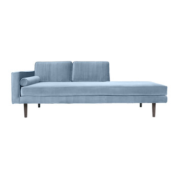 Wind Chaise Longue - Pastel Blue