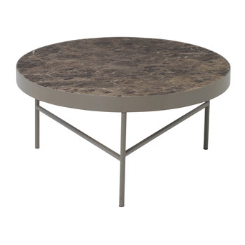 Marble Table - Large - Brown