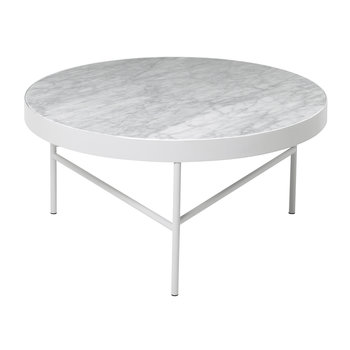 Marble Table - Large - White Bianco Carra