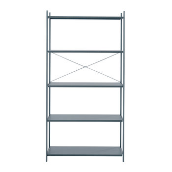 Punctual Shelving System -Dark Blue - 1x5