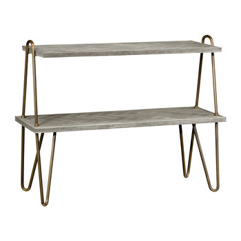 Gennesso Console Table - Greyed Oak