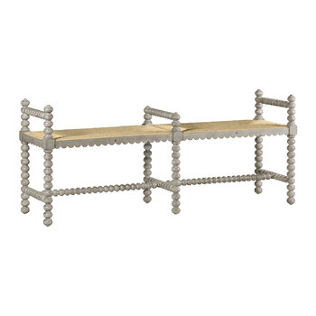 Bellingham Double Bench - Country White