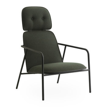 Pad Lounge Chair - Black/Synergy