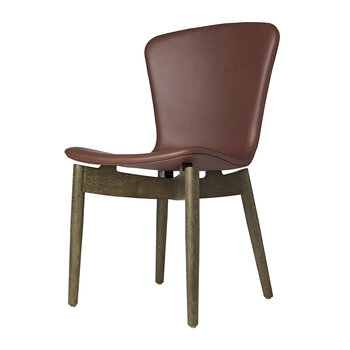 Shell Dining Chair - Cognac