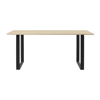 70/70 Table - Oak/Black