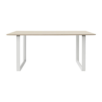 70/70 Table - Oak/White
