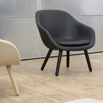 AAL Armchair - Black Leather