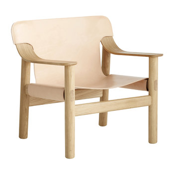 Bernard Armchair - Cream Leather