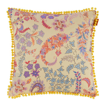 Pertuis Dorgonne Pillow with Piping - 45x45cm - Yellow