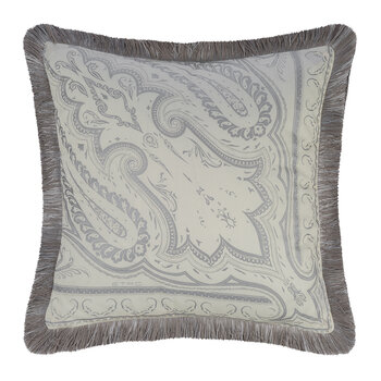 Avignone Poisson Pillow with Piping - 45x45cm - Beige